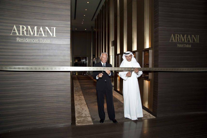 Designer branded hotels davignon martin for Armani hotel dubai interior design