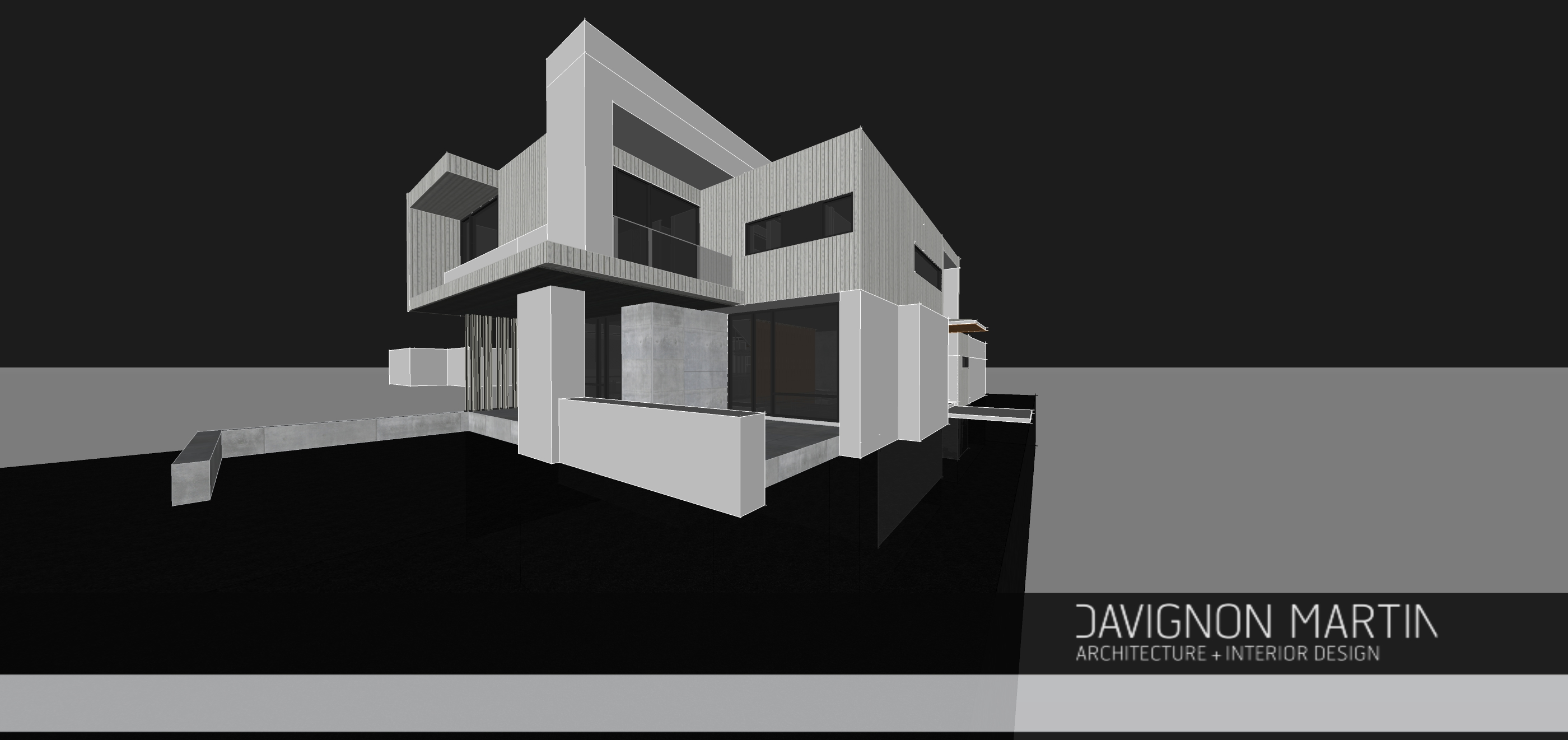 The truth about so called boxy houses davignon martin for Solid void theory architecture